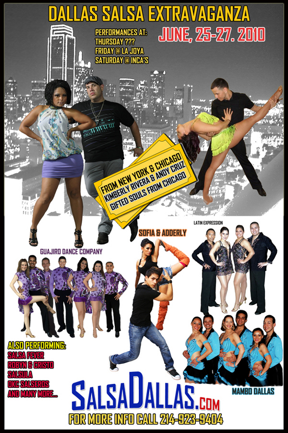 Salsa Extravaganza June 25th - 27th