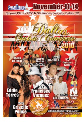 Dallas Salsa Congress 2010!! The largest Salsa Party in DFW!!